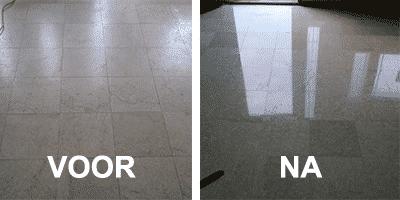 vinyl vloer schoonmaken
