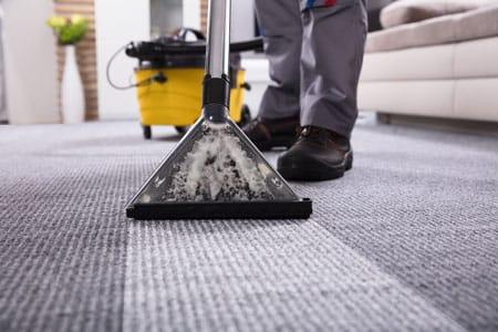 tapijt reiniging